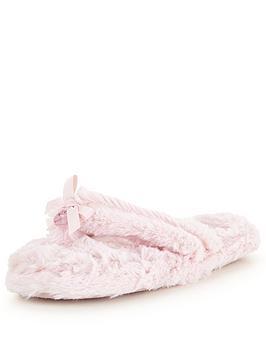 bedroom-athletics-erica-pink-toe-post-slipper