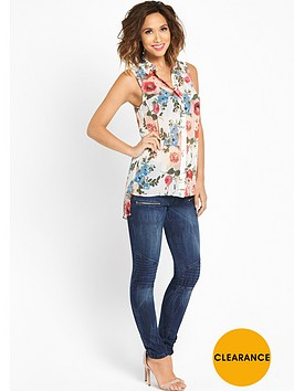 myleene-klass-high-low-printed-blouse