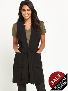 v-by-very-sleeveless-belted-jacket