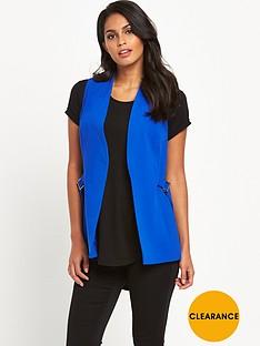 v-by-very-sleeveless-d-ring-waistcoat