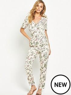 v-by-very-printed-zip-detail-jumpsuit