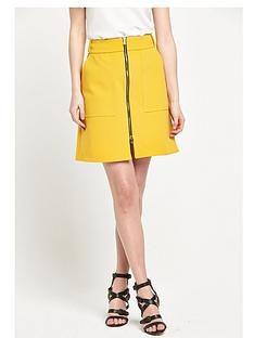 river-island-zip-through-a-line-skirt