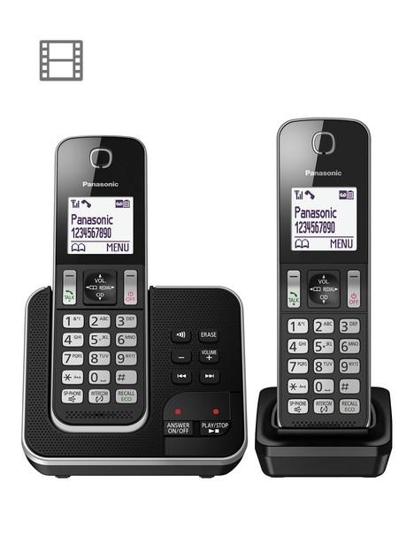 panasonic-kx-tgd32nbsptwin-cordless-telephones