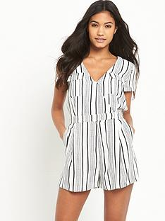 river-island-stripe-utility-playsuit