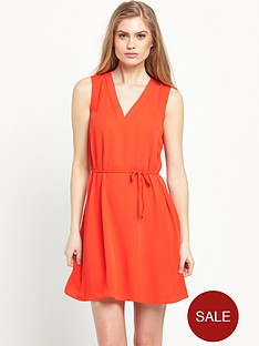 river-island-lace-up-back-swing-dress