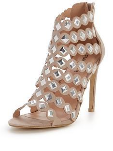 glamorous-caged-heeled-sandal