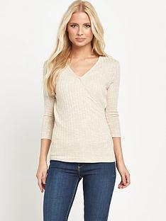 v-by-very-ribbed-jersey-wrap-top