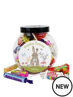 personalised-easter-bunny-sweet-jar