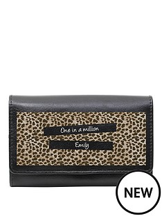 personalised-leopard-print-purse