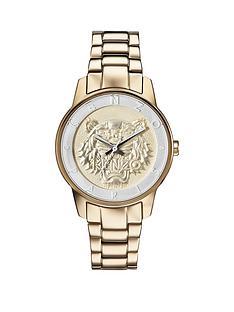 kenzo-kenzo-gold-dial-stainless-steel-gold-tone-ladies-bracelet-watch