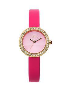 oasis-pink-strap-ladies-watch