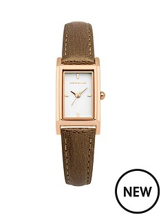 karen-millen-karen-millen-white-gloss-dial-pearlised-brown-leather-strap-ladies-watch
