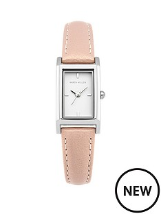 karen-millen-karen-millen-white-gloss-dial-pearlised-nude-leather-strap-ladies-watch