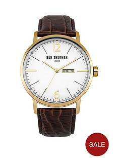 ben-sherman-matte-white-dial-date-window-brown-genuine-leather-mens-strap-watch