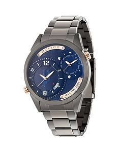 police-police-blue-dial-gun-stainless-steel-bracelet-mens-watch