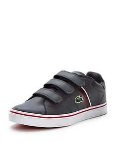 lacoste-lacoste-junior-fairlead-strap-shoe-grey