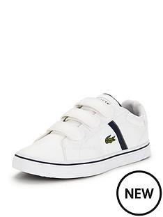 lacoste-lacoste-junior-fairlead-strap-shoe-white