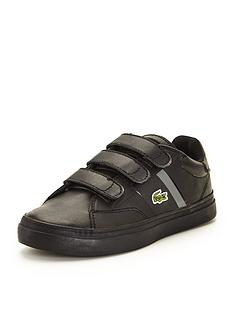 lacoste-lacoste-junior-fairlead-strap-shoe-black