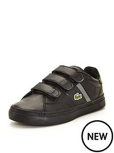 lacoste-lacoste-junior-fairlead-strap-shoe-black