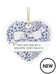 personalised-floral-willow-nan-hanging-heart
