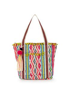 v-by-very-pom-pom-detail-beach-bag