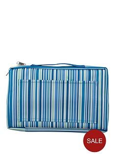 sabichi-blue-stripe-2-wheel-trolley