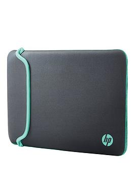 hp-140rdquo-notebook-sleeve-ndash-greygreen
