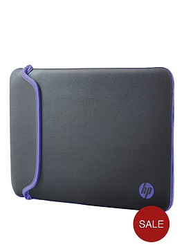 hp-156rdquo-notebook-sleeve-ndashgreypurple