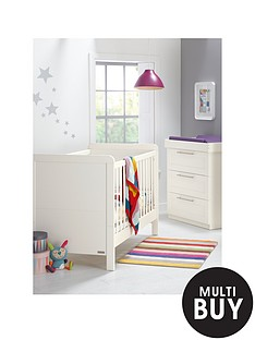 mamas-papas-rialto-cot-bed-and-dresser-ivory