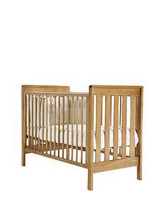 mamas-papas-pebble-cot--golden-oak