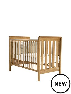 mamas-papas-pebble-cot--golden-oak