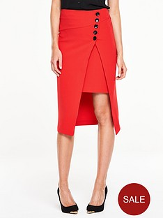 v-by-very-side-button-asymmetric-skirtnbsp