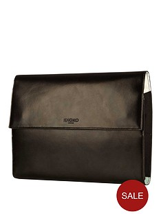 knomo-knomad-air-portable-organiser-leather