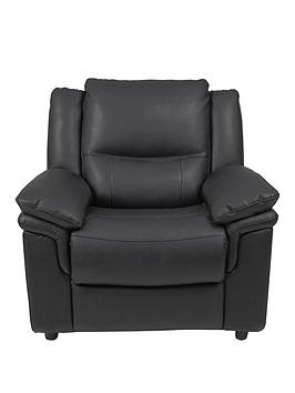 Very Albion Luxury Faux Leather Armchair Picture