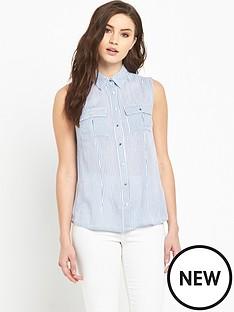 v-by-very-sleeveless-stripe-shirt