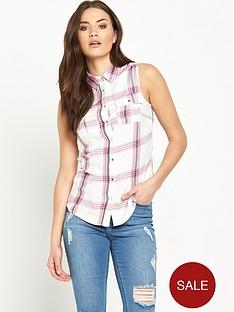v-by-very-sleeveless-check-shirtnbsp