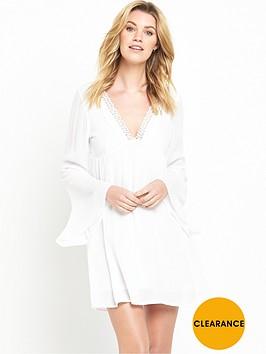 v-by-very-bell-sleeve-crinkle-dress
