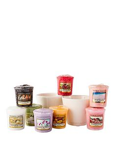 yankee-candle-spring-and-summer-collection-ndash-8-votives-plus-2-holders