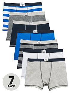 v-by-very-boys-trunks-7-pack