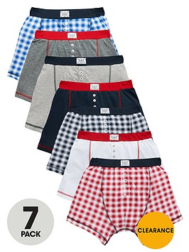 v-by-very-boys-check-boxers-7-pack