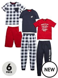 v-by-very-6-piece-pyjama-set