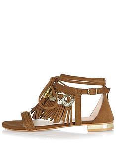 river-island-fringe-tie-up-flat-sandal