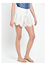 Crochet Detailed Shorts