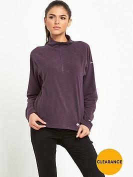 trespass-shiner-12-zip-fleece-purple