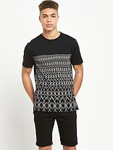 Blocked Graphic T-Shirt