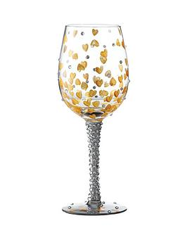 Lolita Heart of Gold Standard Wine Glass