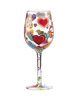 Lolita Heartrageous Standard Wine Glass