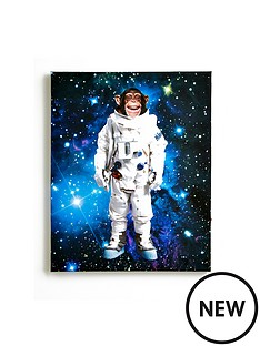 arthouse-space-monkey-canvas-with-led-light-up-stars