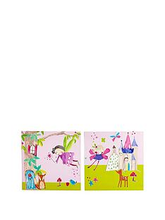 arthouse-set-of-2-enchanted-fairies-canvases