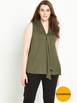 v-by-very-curve-tie-front-sleeveless-jersey-topnbsp